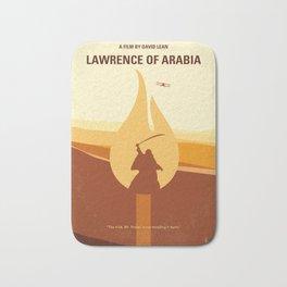 No772 My Lawrence of Arabia minimal movie poster Bath Mat