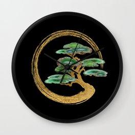 Zen Enzo Geode Bonsai Tree Wall Clock