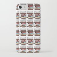 nutella iPhone & iPod Cases featuring Nutella Love by Gabriela Riveros