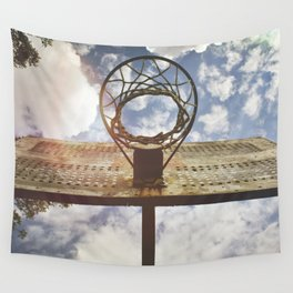 Hoosier Basketball Wall Tapestry