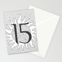 SPN Print (White) Stationery Cards