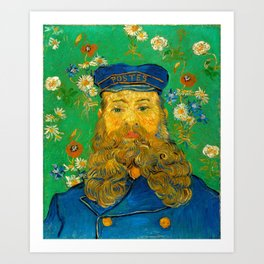 Vincent van Gogh - Portrait of Joseph Roulin (1889) Art Print