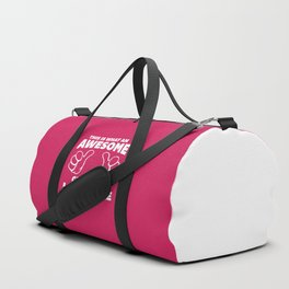 Awesome Grandma Funny Quote Duffle Bag