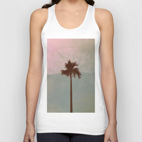Palm Tree (vintage) Unisex Tank Top