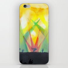 live concert painting iPhone & iPod Skin