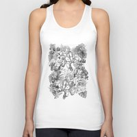 angels Tank Tops featuring ANGELS by TOO MANY GRAPHIX