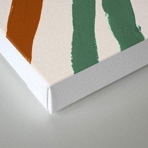 Zébra pop Canvas Print