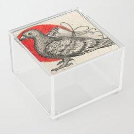 A carrier pigeon Acrylic Box