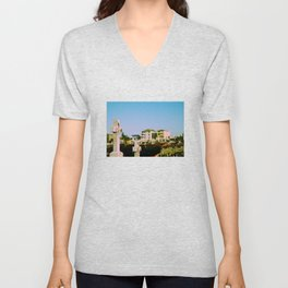 Suburban afterlife Unisex V-Neck