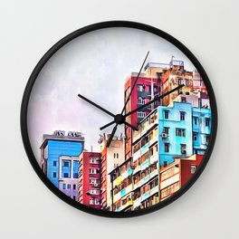 Quarter Three Wall Clock