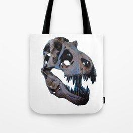 The Dinosaur Skull (Color) Tote Bag