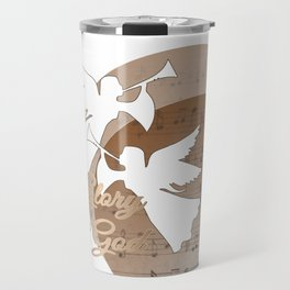 Glory to God - with Angels and Trumpets Heralding Jesus Birth Travel Mug