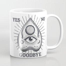 Yes No Goodbye Magic Ouija Vintage Planchette Design Coffee Mug