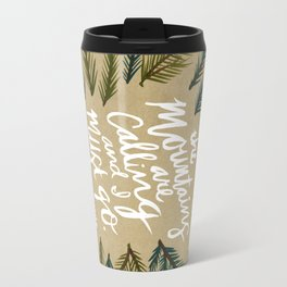 Mountains Calling – Kraft Travel Mug