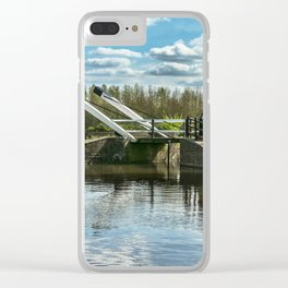 Bridge 221 On The Oxford Canal Clear iPhone Case
