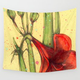 Amarillis (SOLD) Wall Tapestry