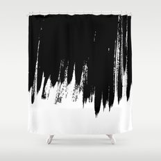 HIGH CONTRAST Shower Curtain