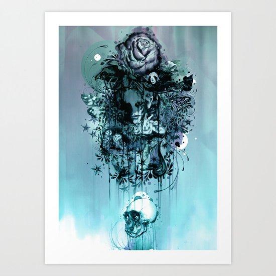 Doom and Bloom Art Print