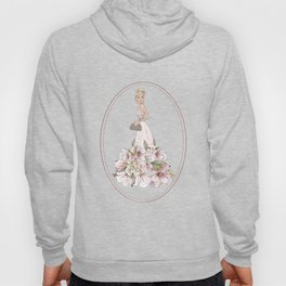 Luxury Girl Party Shoes Purse Pattern Hoody
