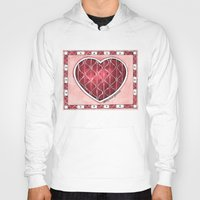 confetti Hoodies featuring Confetti by Shelley Ylst Art
