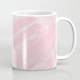 Elegant pink blue watercolor crayon abstract brushstrokes Coffee Mug