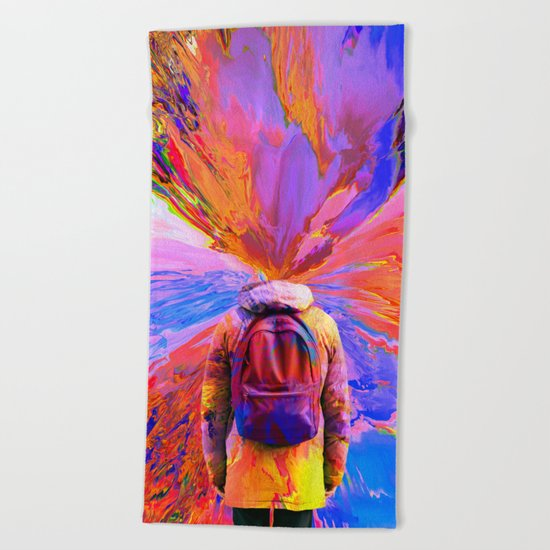 Imagination Beach Towel