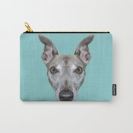 Whippet // Blue (Vespa) Carry-All Pouch