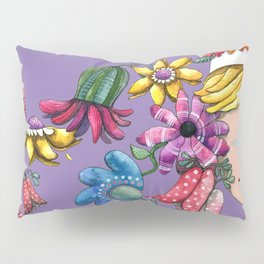 I Love the Flower Girl Lavender Pillow Sham