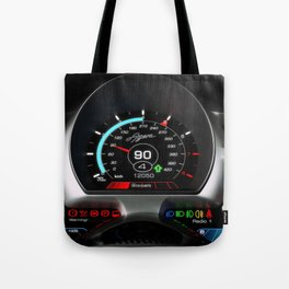 Koenigsegg Agera interior dashboard Tote Bag