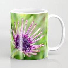 purple flowers in macro Mug