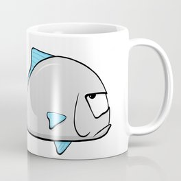 Scribble2Masterpiece - GROUCHY FISH! Coffee Mug