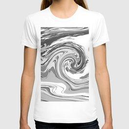 BLACK&WHITE MIX T-shirt