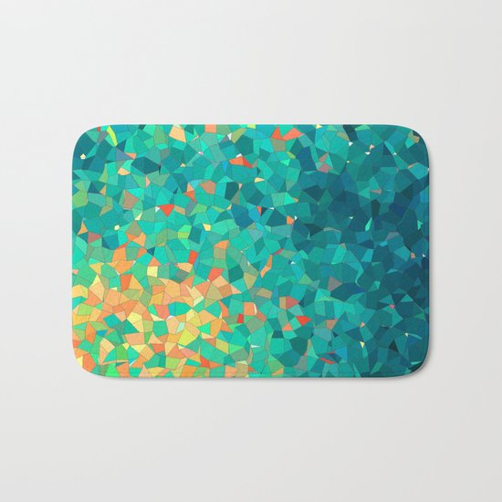 abstract Bath Mat
