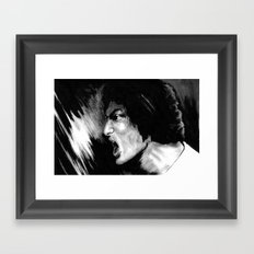 Blow Your Brains Out  Framed Art Print