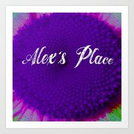 alex's daisy Art Print