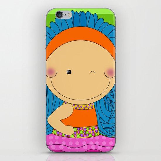 Happy Tuesday! - Fun, sweet, unique, creative and colorful, original,digital children illustration iPhone & iPod Skin