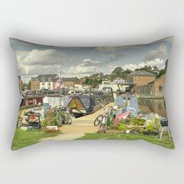 Diglis Basin Rectangular Pillow