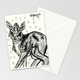 Adorable Baby Dik Dik Stationery Cards