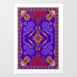 mystic rug Art Print
