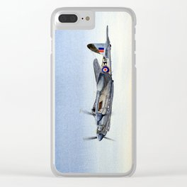 Mosquito De Havilland Aircraft Clear iPhone Case