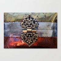 katniss Canvas Prints featuring Katniss by The Brass Clasp