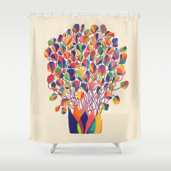 felicitous Shower Curtain