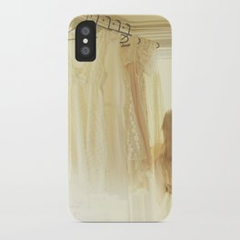 ginger and lace iPhone Case