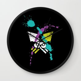 Splatoon - Turf Wars 3 Wall Clock
