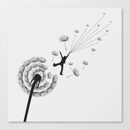 Free Dandelion Canvas Print