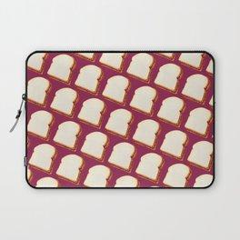 Peanut Butter & Jelly Sandwich Pattern Laptop Sleeve