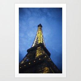 Eiffel Towering Art Print