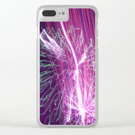 The Light Show Clear iPhone Case