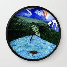 Landscapes / Nr. 1 Wall Clock