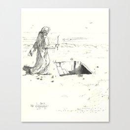 short step Canvas Print